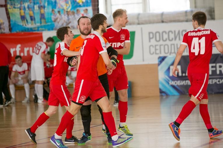 Фотоотчет о матче «КПРФ-д» - «Спартак»