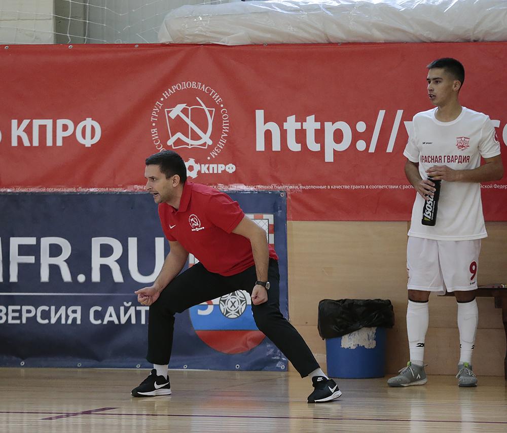 Фотоотчет о матче «КПРФ-2» - «Красная гвардия»