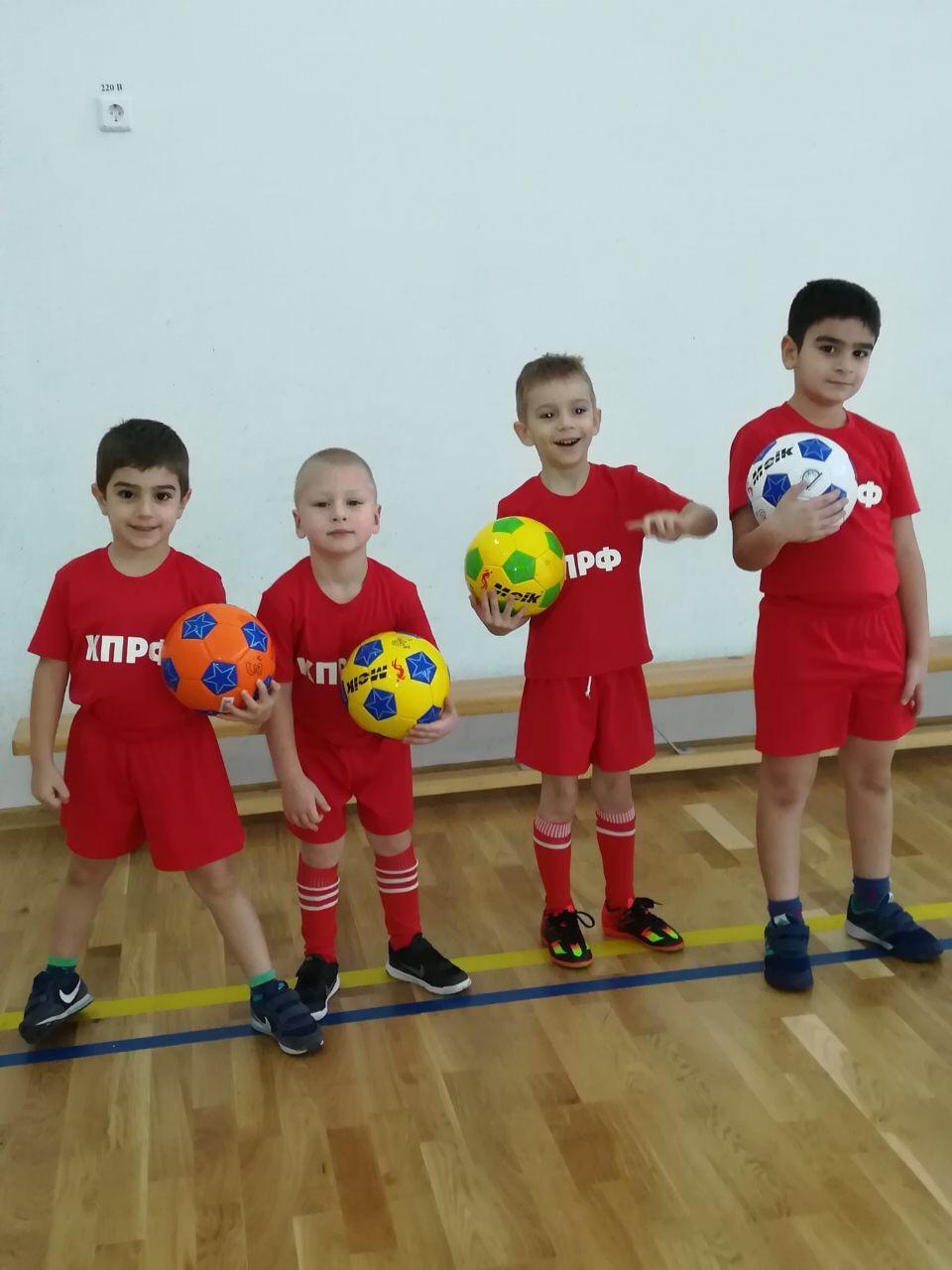 Детская секция футбола СК КПРФ в г.Видное