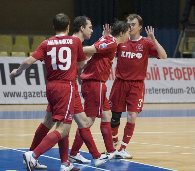 Фотоотчет о матче КПРФ - ЦСКА