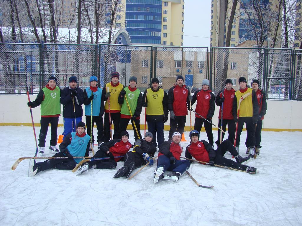 Хоккейная тренировка